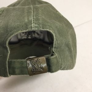 Accessories - Wounded Warrior No One Left Behind Green Cap Hat